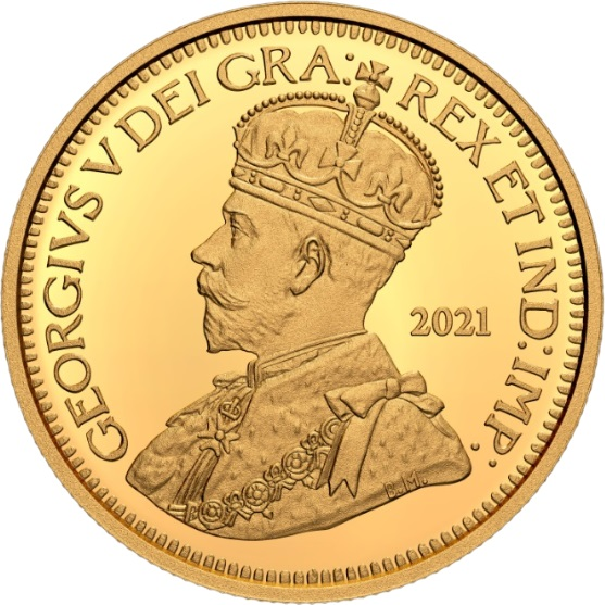 Канада монета 10 центов 1936 года, реверс