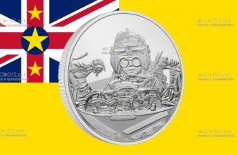 Ниуэ монета 2 доллара Энакин Скайуокер