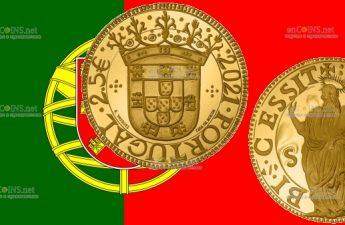 Португалия монета 2.5 евро Святой Фома
