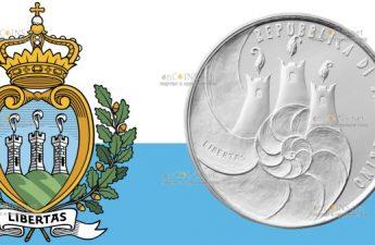Сан-Марино монета 5 евро Международный День биологического разнообразия