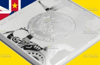 Соломоновы острова монета 4 доллара Лабиринт Минотавра на Крите