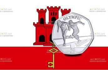 Гибралтар монета Бегуны