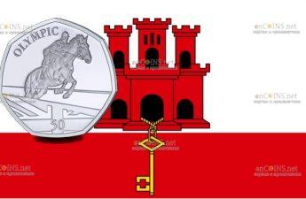 Гибралтар монета Конный спорт