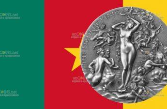 Камерун монета 2000 франков КФА Рождение Венеры