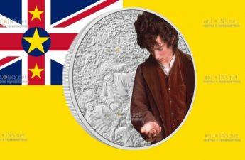 Ниуэ монета 2 доллара Фродо