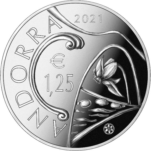 Андорра монета 1,25 евро серии Наследие Андорры, аверс