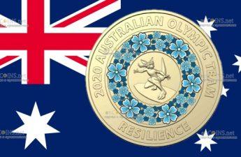 Австралия монета 2 доллара Площадка для Серфинга