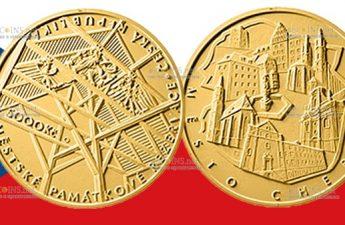 Чехия монета 5000 крон Хеб