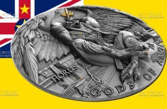 Ниуэ монета 5 долларов Гор