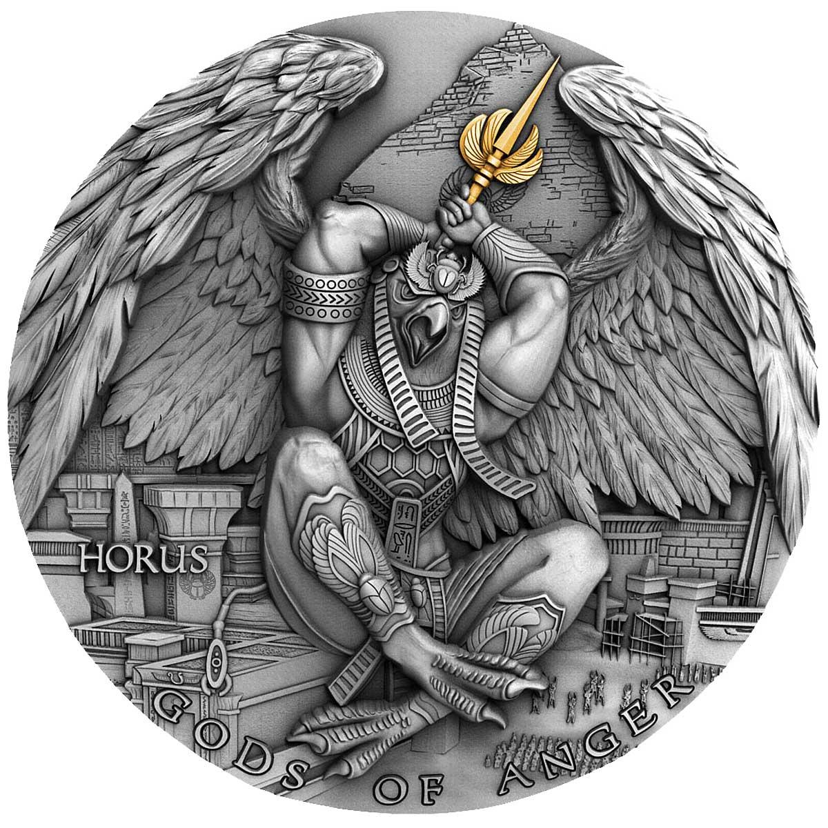 Ниуэ монета 5 долларов Гор, реверс