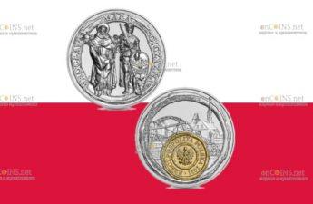 Польша монету 50 злотых Вроцлав - маленькая родина