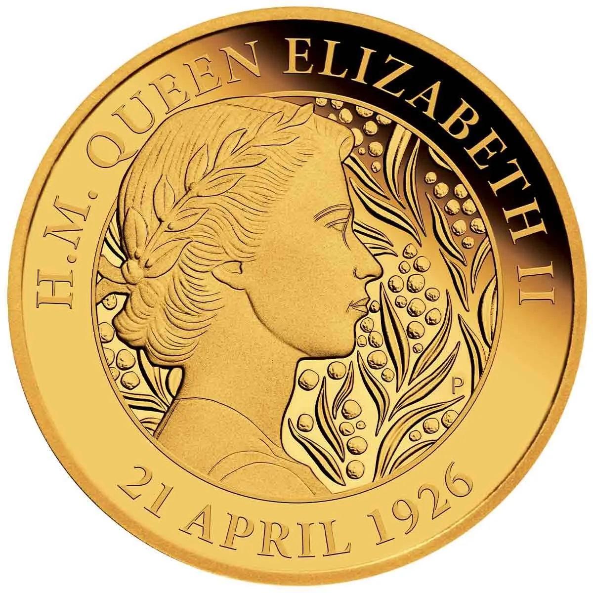 Австралия 25 доллара к 95-летию со дня рождения королевы Елизаветы II, реверс