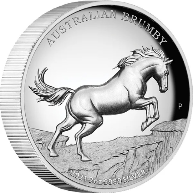 Австралия монета 2 доллара Австралийский Брамби, реверс