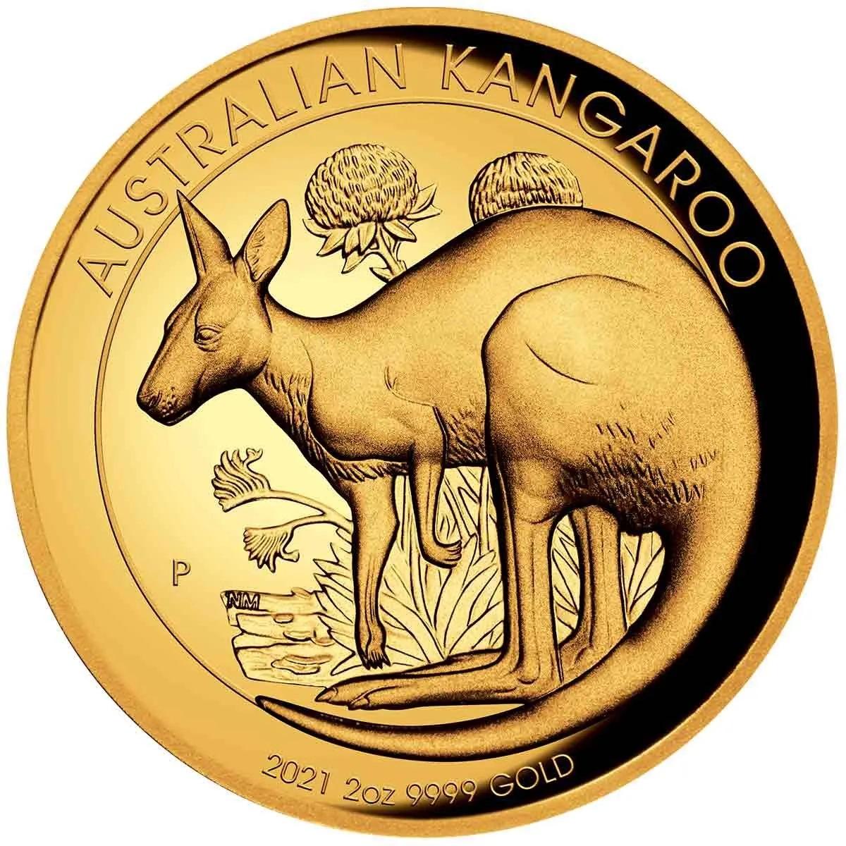 Австралия монета 200 долларов Австралийский Кенгуру, реверс