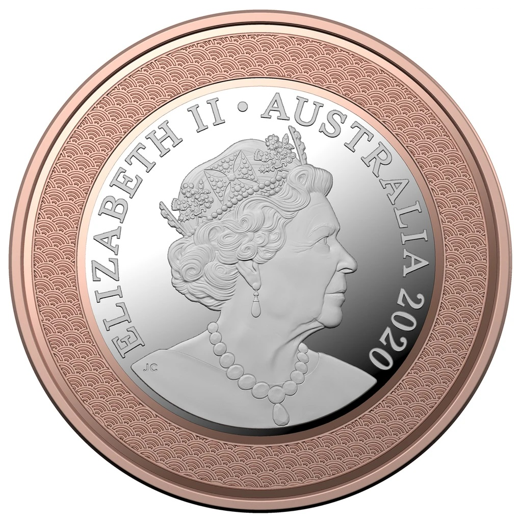 Австралия монета 5 долларов Паралимпийская команда, аверс