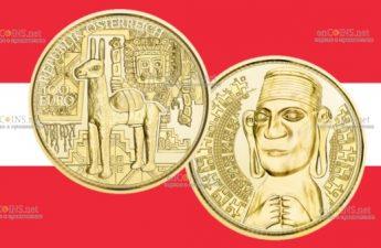 Австрияи монета 100 евро Золото инков