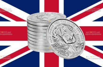 Британия монет 2 фунта Дева Мэриан
