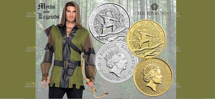 Британия серия монет Робиин Гуд