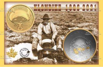Канада монеты в серии Золотая лихорадка Клондайк, аверс