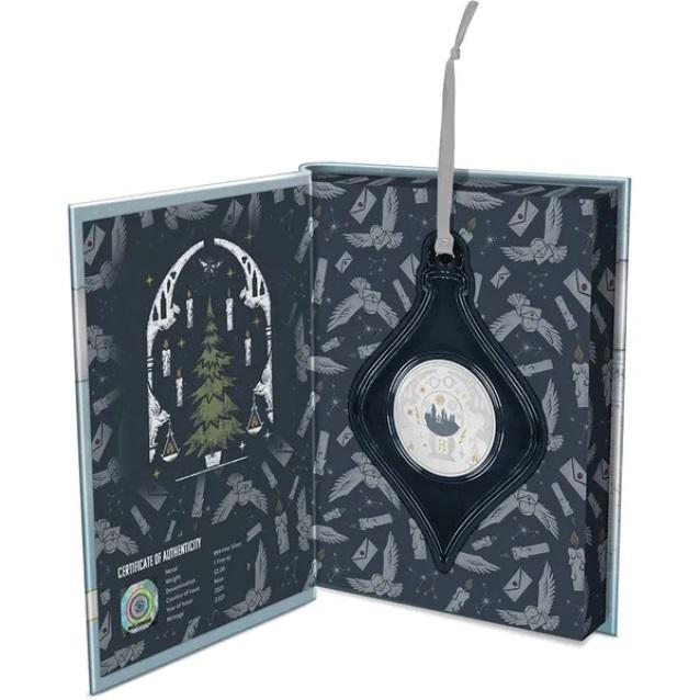 Ниуэ монета 2 доллара Поздравления с сезоном Харри Поттера, подарочная упаковка
