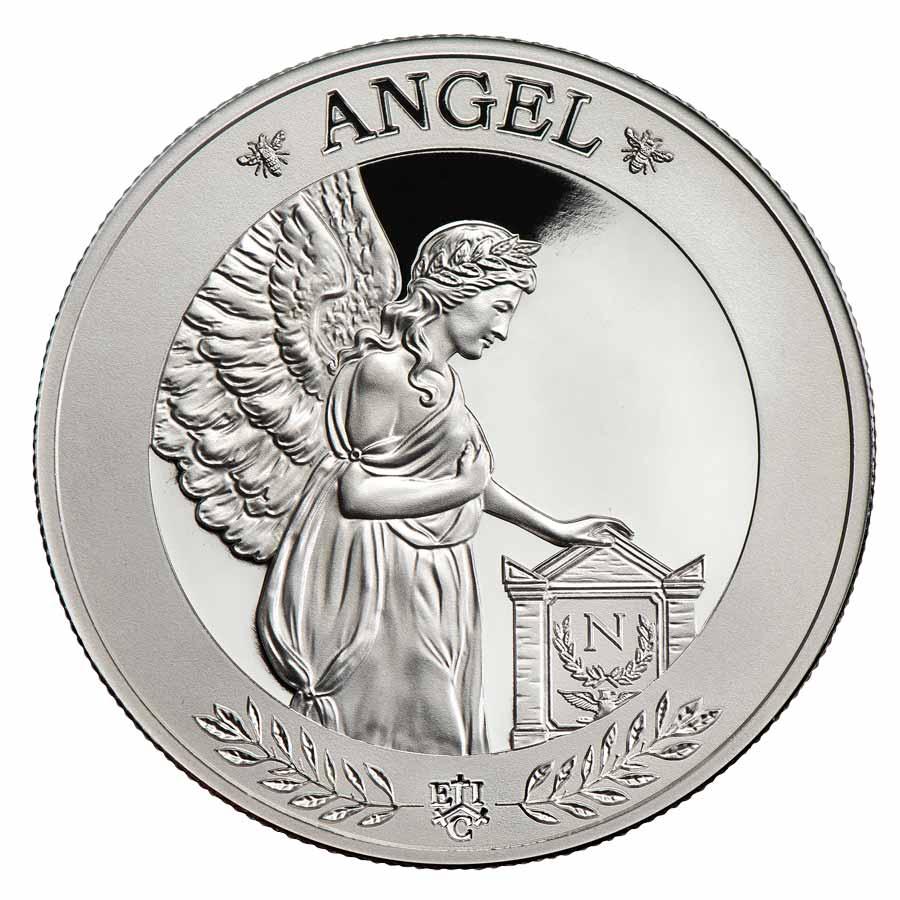 Остров Святой Елены монета 1 фунт Ангел Наполеона, реверс