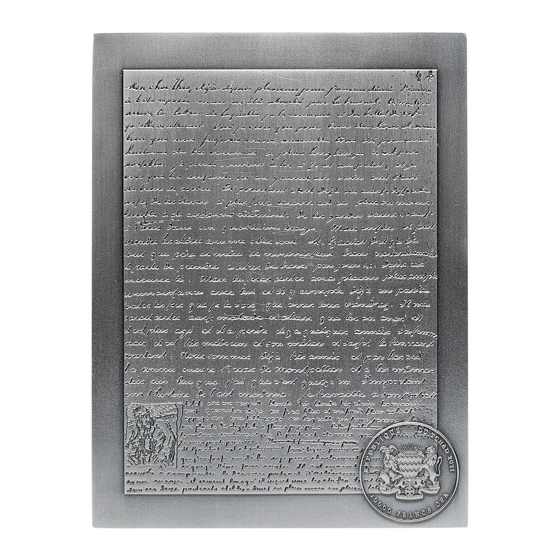 Республика Чад монета 3 000 франков КФА Ван Гог, аверс