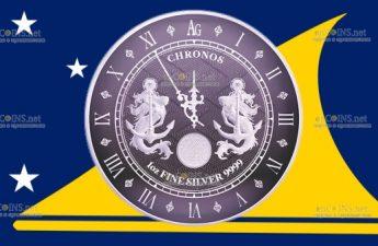 Токелау монета 1 доллар Хронос