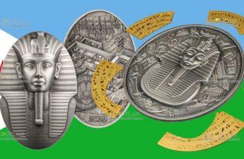 Джибути выпускают серию монет к столетию раскопок в Долине Царей