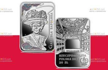Польша выпускает монету 20 злотых Габриэла Запольская