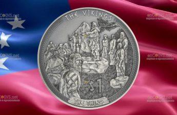 Самоа выпускает монету 1 доллар Тинги