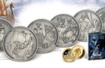 Самоа выпускает серию монет Викинги