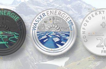 Швейцария монета 20 франков Гидроэнергетика