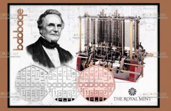 Великобритания выпустила монеты в честь Чарльза Бэббиджа